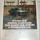 1972 American Motors Hornet 2 dr sedan car ad
