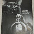 1966 Lanvin My Sin Perfume ad