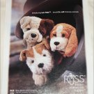 2000 Russ Berrie & Company Pups ad