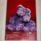 2000 Russ Berrie & Company Bears ad