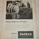 1955 Sankey of Wellington ad from the UK