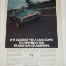 1972 American Motors Javelin-AMX car ad