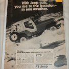 1972 American Motors Jeep ad
