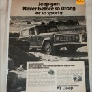 1972 American Motors Jeep Commando ad
