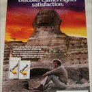 1979 Camel Lights Cigarette Sphinx ad
