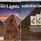 1979 Camel Lights Cigarette Pyramid ad #2