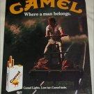 1980 Camel Lights Cigarette Handcar ad