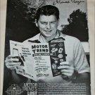 Motor Trend ad featuring Ronald Reagan