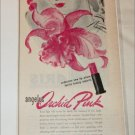 1945 Louis Phillipe Angelus Orchid Pink Lipstick ad