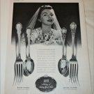 1941 Lunt Silverware ad