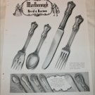 1948 Marlborough Sterling Silver ad