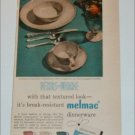 Melmac Dinnerware ad