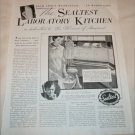 1936 Sealtest Laboratory Kitchen ad