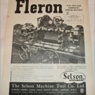1952 Selson Machine Tool Company Ltd ad # 1 from the UK