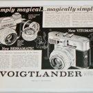 1959 Voigtlander Bessamatic & Vitomatic Camera ad