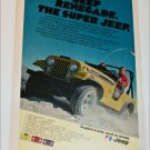 1972 American Motors Jeep Renegade ad