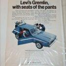 1973 American Motors Levi's Gremlin X car ad