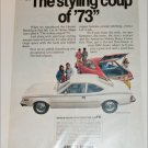 1973 American Motors Hornet Hatchback car ad white