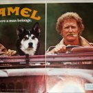 1981 Camel Lights Cigarette Huskey ad