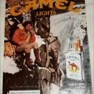 1983 Camel Lights Cigarette ad