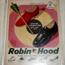 Brown Robin Hood Shoes ad