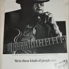 1992 People ad featuring John Lee Hooker