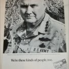 1992 People ad featuring General Norman Schwarskopf