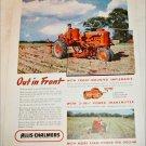 1947 Allis-Chalmers Model B & Model C Tractor ad