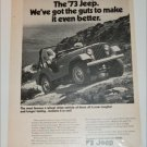 1973 American Motors Jeep ad