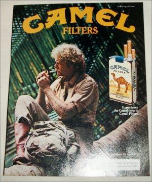 1983 Camel Cigarette Jungle ad
