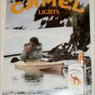 1984 Camel Lights Cigarette Kayak ad