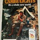 1984 Camel Lights Cigarette Tent ad