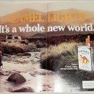 1984 Camel Lights Cigarette 4 Wheel Drive ad