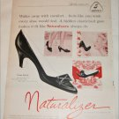 Brown Naturalizer Cross Stitch Shoe ad
