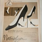 1957 Brown Naturalizer Wonder Pump Shoe ad