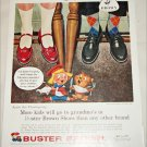 1957 Brown Buster Brown Shoes Thanksgiving ad