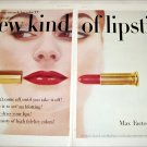 1956 Max Factor Hi Fi Lipstick ad