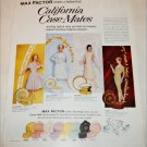 1960 Max Factor California Casemates ad