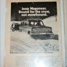 1973 American Motors Jeep Wagoneer ad