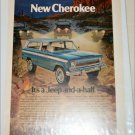 1974 American Motors Jeep Cherokee ad