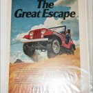 1974 American Motors Jeep CJ-5 ad