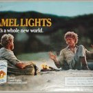 1985 Camel Lights It's a Whole New World Cigarette ad #1