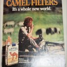 1985 Camel Filters It's a Whole New World Cigarette ad #2