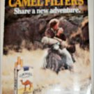 1987 Camel Filters Motorcycle Cigarette ad