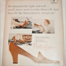 1958 Brown Naturalizer Shoe ad