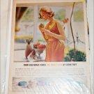 1962 Max Factor Creme Puff ad