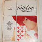 1962 Max Factor Lipstick ad