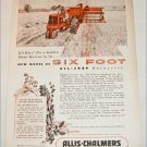 1953 Allis-Chalmers All-Crop Harvester ad