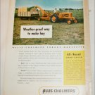 1953 Allis-Chalmers Forage Harvester ad