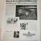 1951 Timken Roller Bearings ad